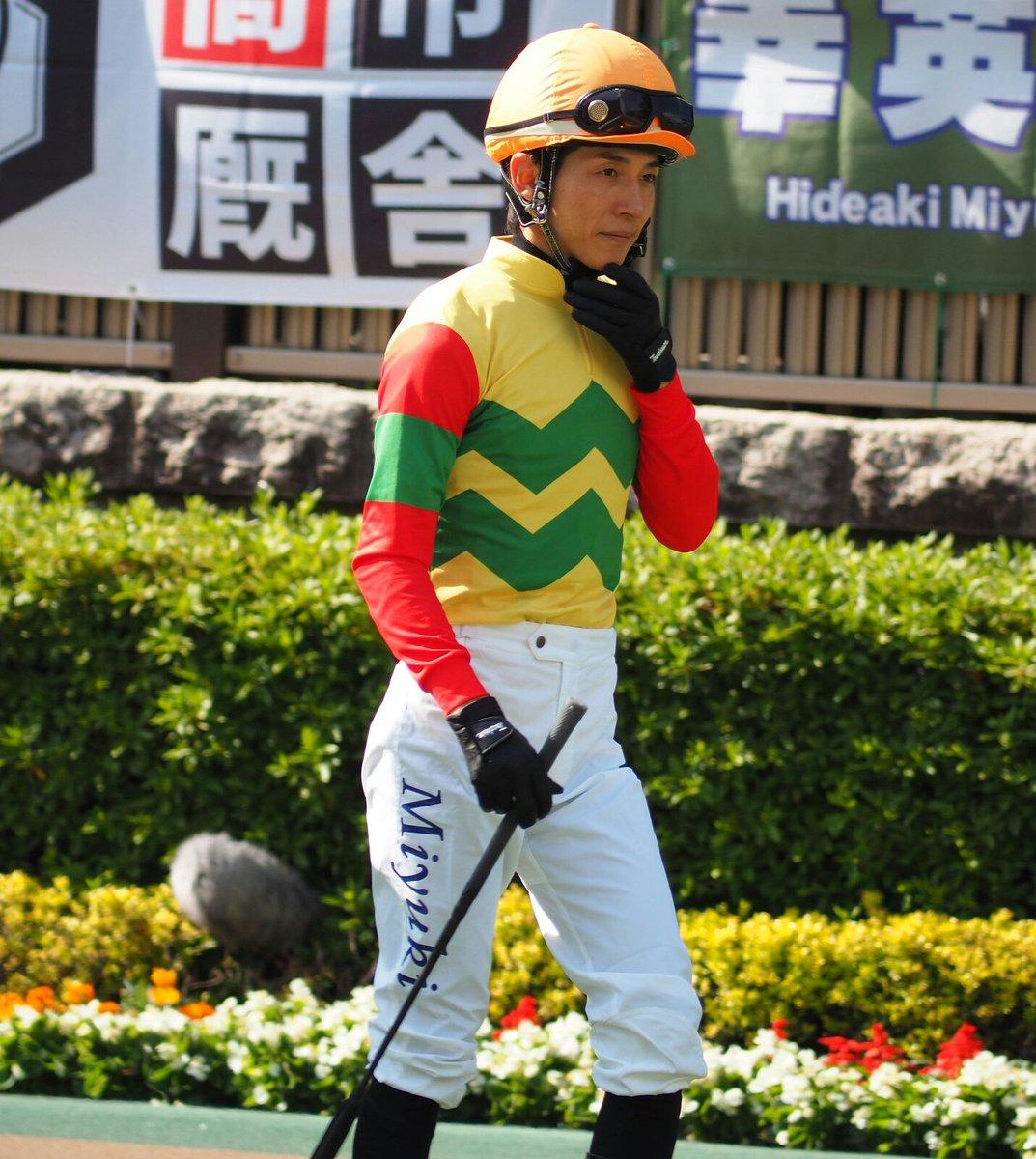 2019.5.19 東京競馬第11レースのパドックにて。幸英明騎手。