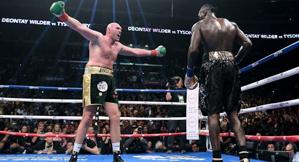 🗣️ Tyson Fury after Deontay Wilder knocked out Dominic Breazeale in 137 seconds: Deontay Wilder is the second baddest man on the planet behind the Gypsy King, AKA Tyson Fury, the number one heavyweight in the world.