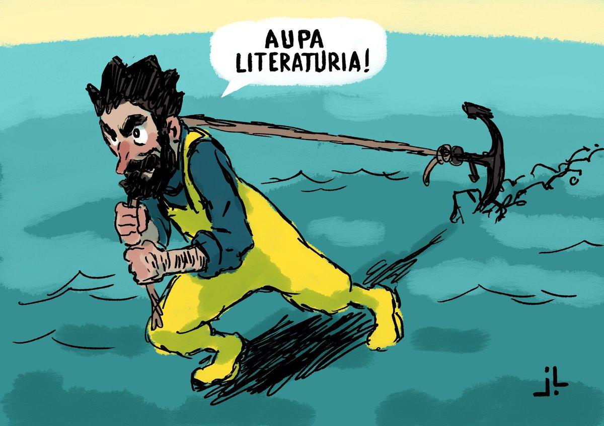 Erasoen gainetik aurrera...  Gaur @literaturiaz eta herriko kontu gehiago Ahuntzan. 21:00etan @ArraioIrratia-n! FM 99.3! #zarautz  http://arraio.eus