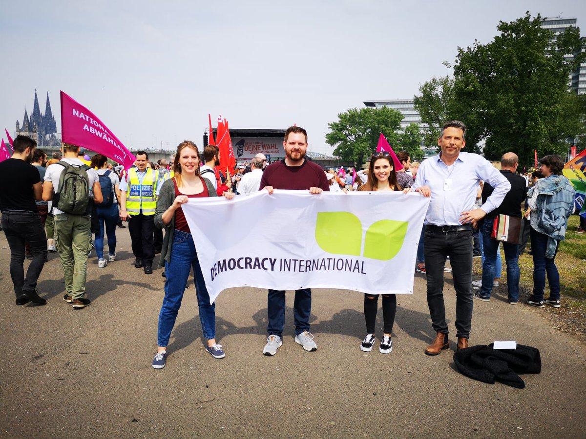 The best future we can have is a Europe for all 🙋♀️🙋♂️ Great turnout for the #19May demonstrations taking place in Cologne and 42 European cities today! Let's carry the momentum to the voting booth next week 🗣 #1EuropaFürAlle #DeineStimmeGegenNationalismus