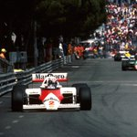 #OnThisDay in 1985, Alain Prost clinched victory for McLaren at an incident-packed #MonacoGP. 🏁🏆  Who's looking forward to going back to Monaco next week? 🇲🇨
