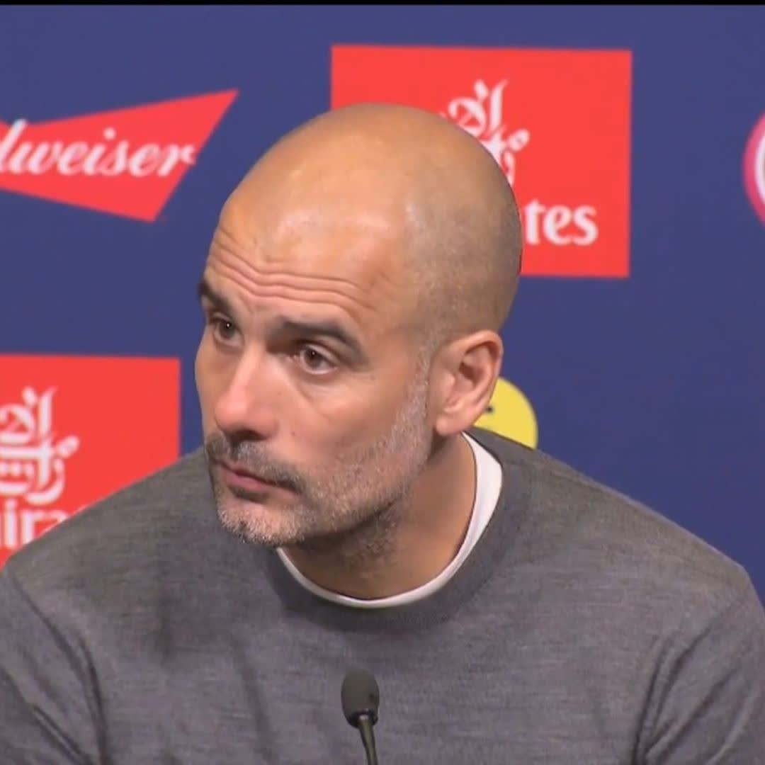 🗣️ Pep Guardiola believes that winning the domestic treble is harder than the Champions League... Is he right? 🤔