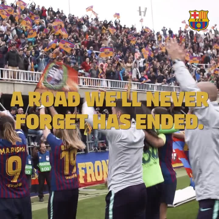 🙌 @FCBfemeni 🙌 The dream... has only just begun 💪🔵🔴