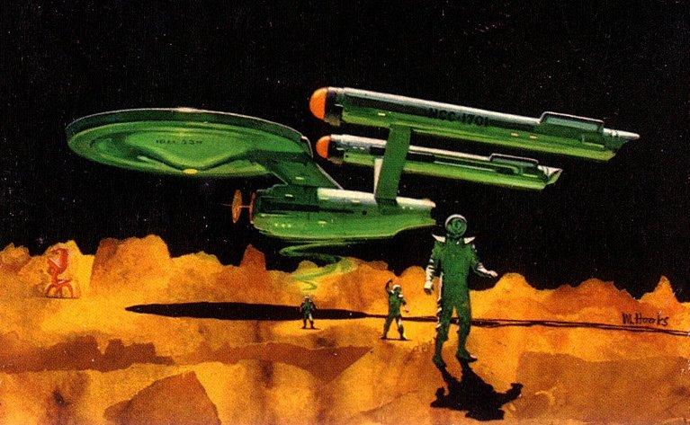 STAR TREK art by Mitchell Hooks, Keith Birdsong, Eddie Jones, and Bob Larkin.