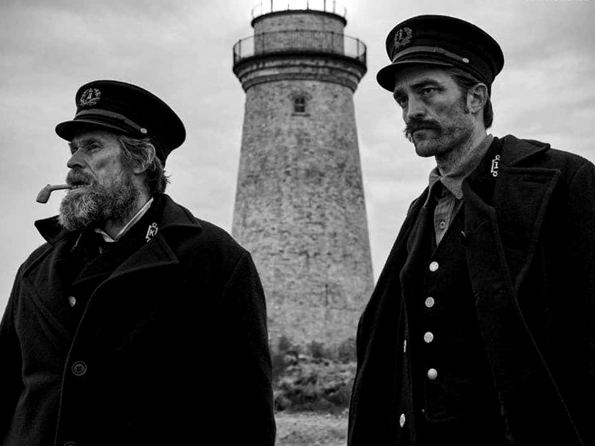 Robert Pattinson and Willem Dafoe are nautical madmen in Robert Eggers&#39; gripping THE LIGHTHOUSE. Here&#39;s our review from #Cannes2019   https:// bit.ly/2w6rz11  &nbsp;  <br>http://pic.twitter.com/eyr6xlJ7cd