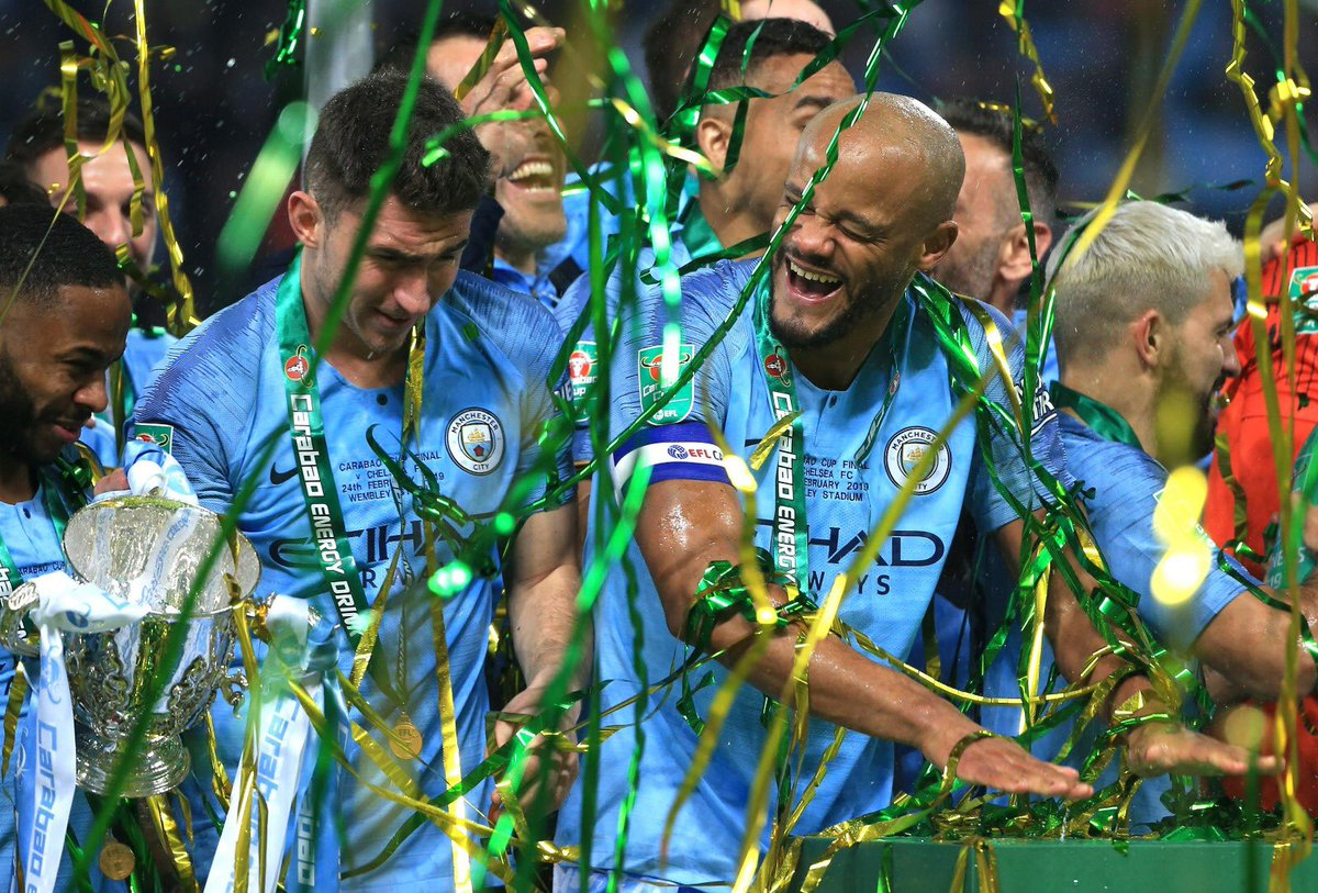 Thank you for this years close to you. Thank you for all the moments, all the words to me and to be the best leader which need this big family. You are a legend and we wish you the best in your next stage, @VincentKompany !©️🦈💙