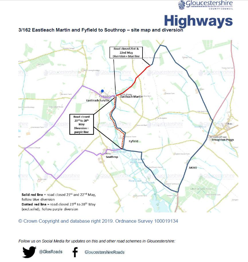 39d51a9988640 A diversion will be in place for the duration of the work  yourhighwayspic. twitter.com JXVVa46aRK