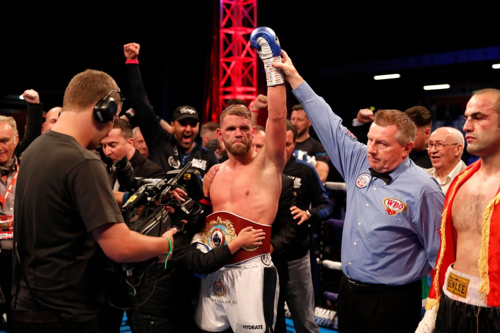 Billy Joe Saunders is the WBO world super-middleweight champion after victory in Stevenage on Saturday.Who next for the Englishman?More here: https://bbc.in/2WduVxY #bbcboxing