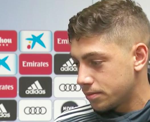 """🔴🎙️Fede Valverde, jugador del Real Madrid: """"No puedo decir qué nos dijo Keylor antes del partido. Fue como un padre para mí, solamente puedo agradecerle"""""""