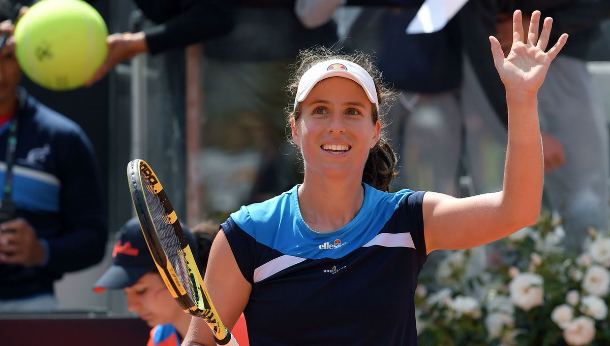 Shes beaten former US Open champions Sloane Stephens and Venus Williams. Shes reached her second final in as many weeks. And shes now guaranteed a French Open seeding. Despite losing in the final to Karolína Plíšková, Johanna Konta has had another great week on clay. 👏