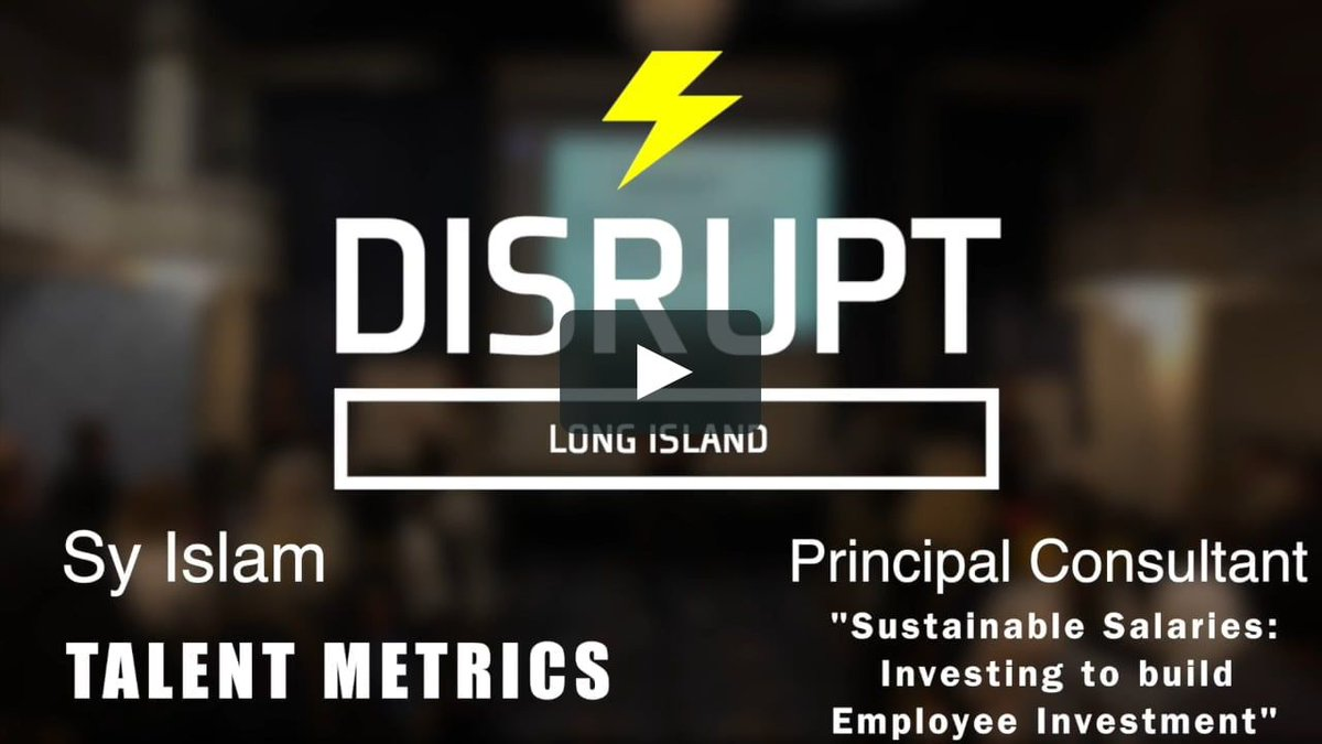 """RT Talent_metrics """"Sustainable Salaries: Investing To Build Employee Investment  Disrupt_HR https://buff.ly/2VGby17 #salary #compensation #HR #HumanResources #hrsquad #IOpsych #futureofwork """""""