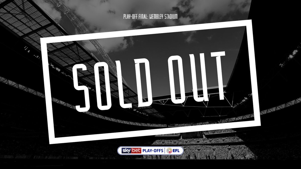SOLD OUT! Thank you for your incredible support, as always! 👊 👉 thera.ms/wembleyso