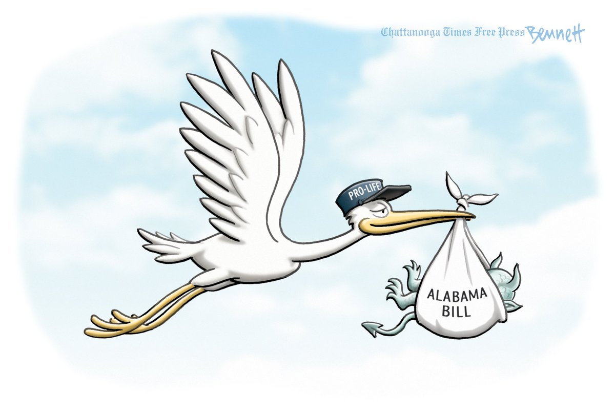 5/19/2019- The Delivery #ReproductiveRights #ReproductiveFreedom #Choice #ProChoice #AbortionRights #AlabamaAbortionBill #AlabamaAbortionBan  https:// tinyurl.com/y537pa3k    <br>http://pic.twitter.com/4tPUfgMx8H