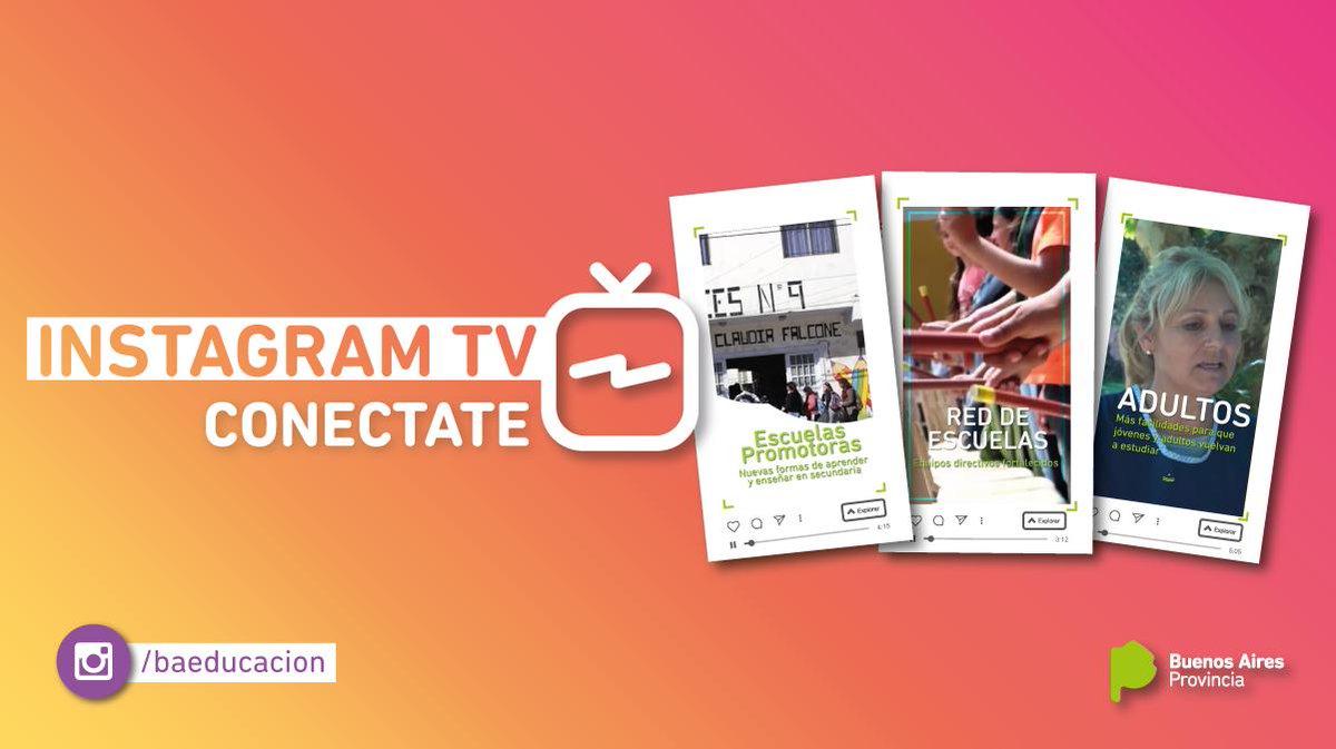 Juntos construimos una mejor #Educación en la Provincia: un nuevo clip de nuestro canal IGTV.   Miralo acá 👉 https://www.instagram.com/tv/BxpP6YVHHQk/?igshid=198c0314xkuhy…  Descubrí nuestra cuenta de Instagram 👉 http://www.instagram.com/BAeducacion