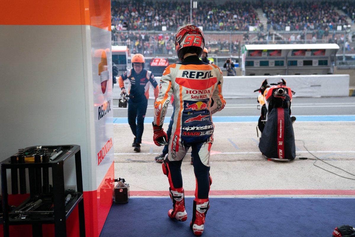 Unstoppable? #MM93 #FrenchGP 📸 @HRC_MotoGP