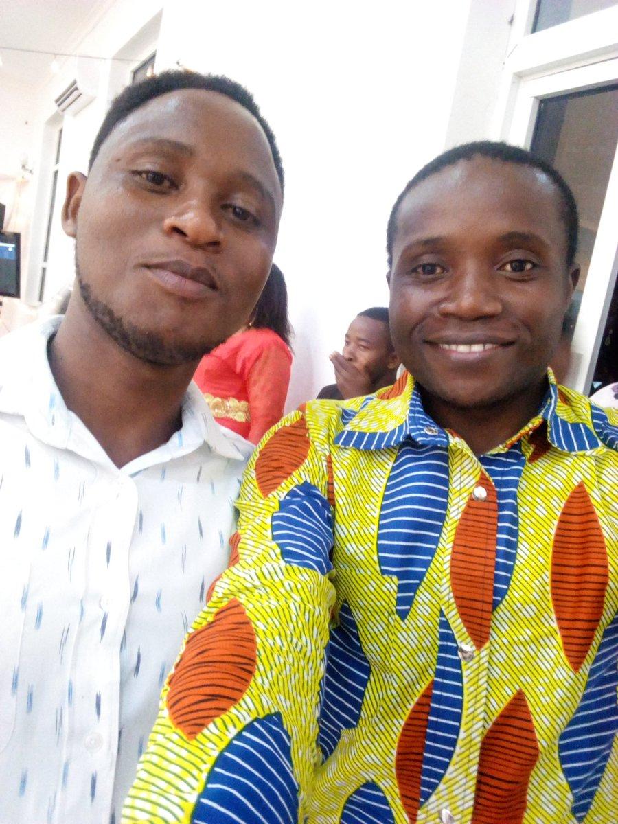Restpicius Ernest Mugimba & I