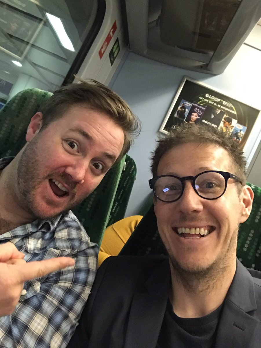 Look who I've found for the last leg of the journey to #RCN19 @Ewout1985. Bring on #Congress #diaryofaNQN<br>http://pic.twitter.com/dczBap7ftk