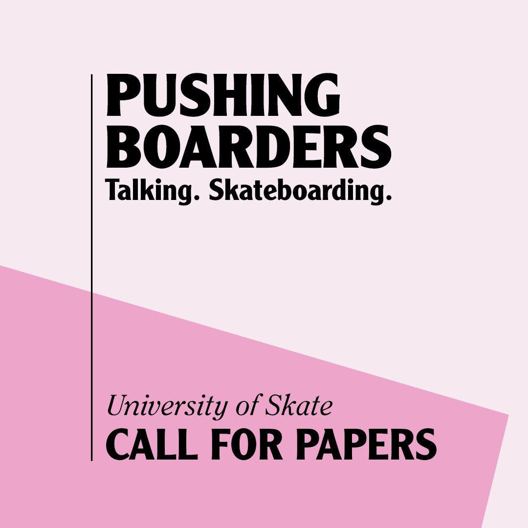 Last chance to submit. Deadline today! 💙 call-for-papers.sas.upenn.edu/cfp/2019/04/23… #skatetwitter