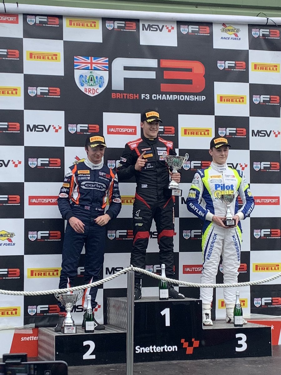 Yeaaaaahhh!!! So proud of my youngest brother @EricssonHampus ! Great job! First of many 💯 @DoubleRRacingGB