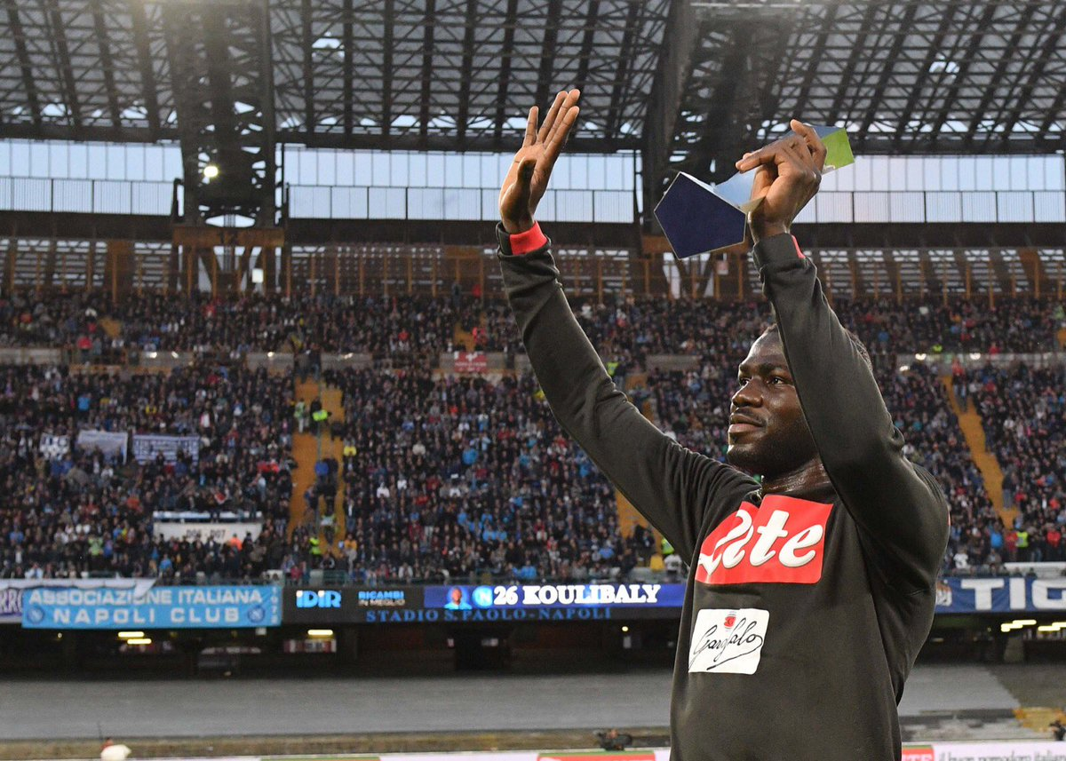 RT @en_sscnapoli: The best defender in Italy: @kkoulibaly26! 🏆  💙 #ForzaNapoliSempre https://t.co/J30p4GJCh5