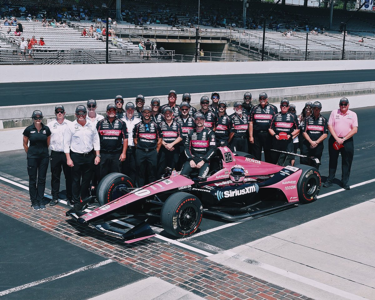 PR - We wouldn't be where we are without each and everyone one of these people #thankful #ThisIsMay | #INDYCAR | @AutoNation | @SIRIUSXM