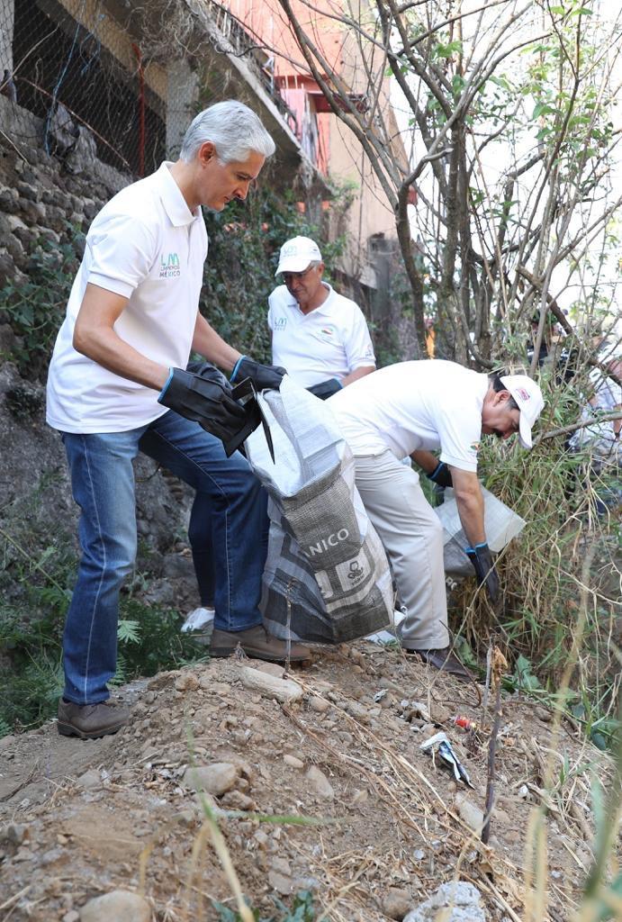 La conservación del medio ambiente es tarea de todos. #LimpiemosMéxico