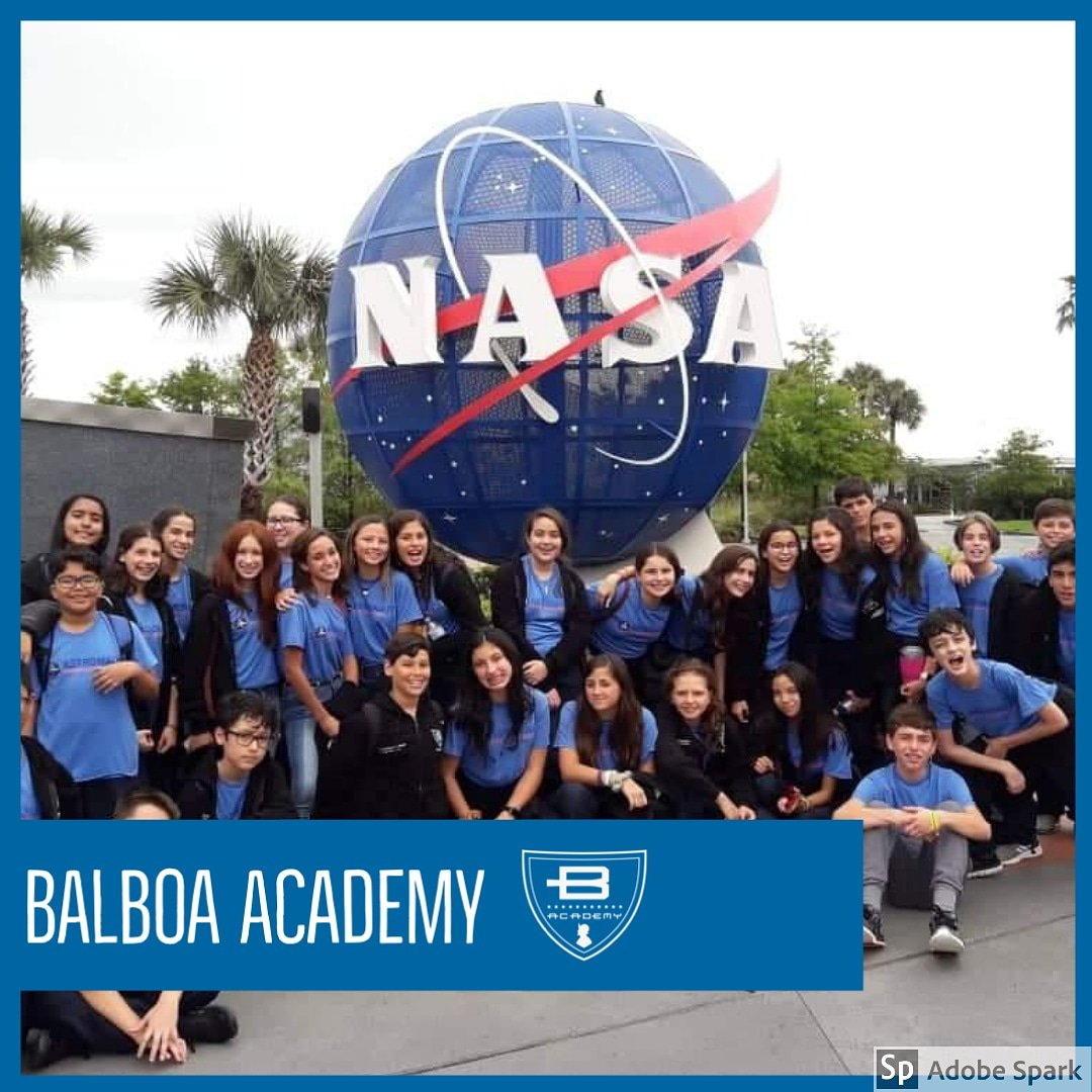 #balboaacademy #middleschoolstudents at @nasakennedy in #florida  #dragon #flyingdragon #unitedstates #nasa #education<br>http://pic.twitter.com/oCnDk1bZry