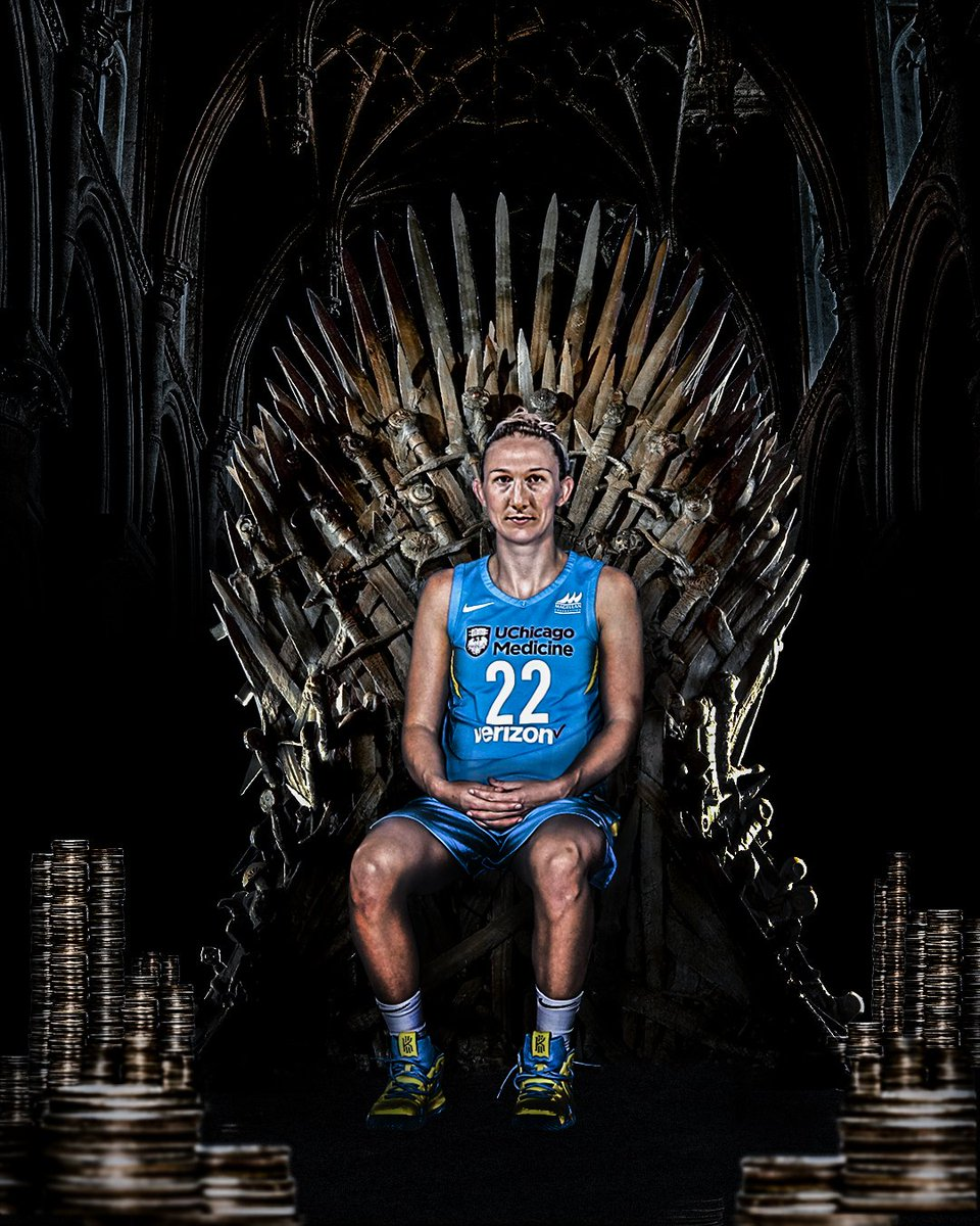 The true heir of the Throne: The Queen of Dimes. #GameOfThrones