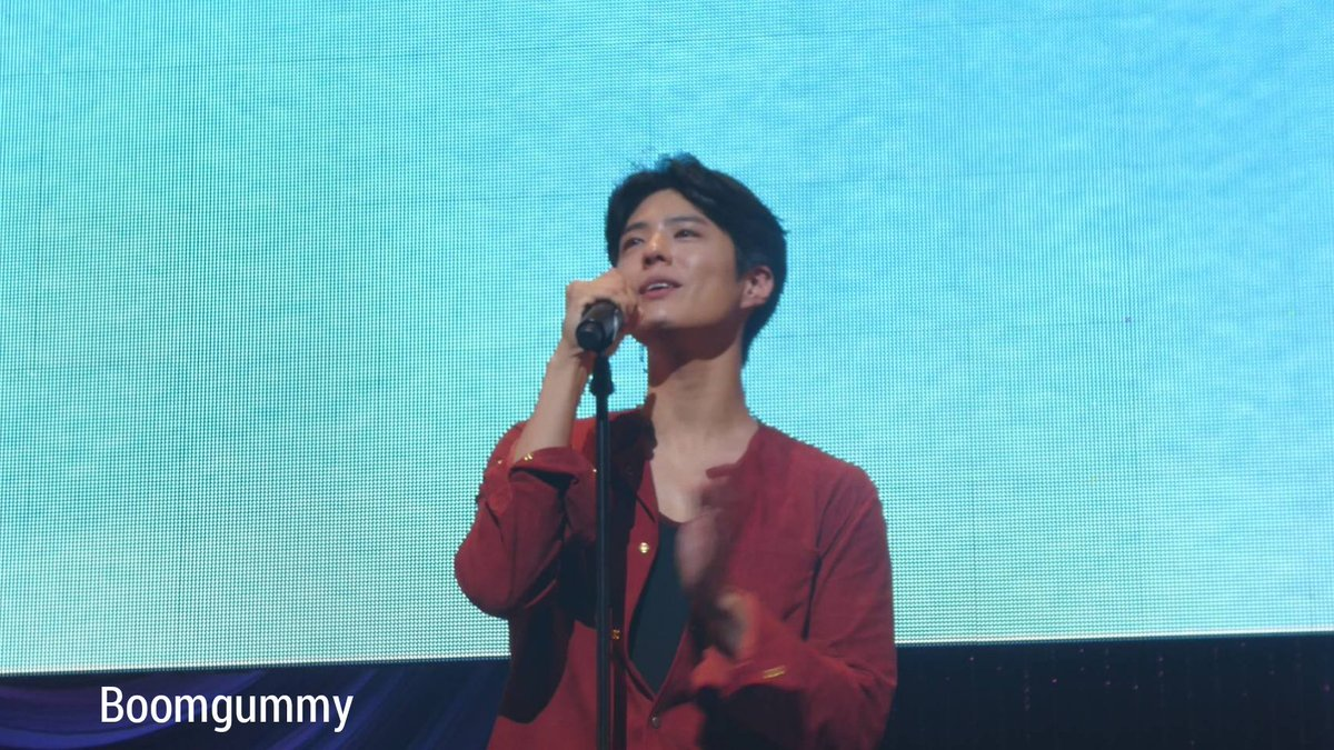 """""""Bloomin' premium talk"""" in Kobe 190519, Thank you Bogum and all staffs... we have another good day. We have great fun. Your Japanese is very good 👏🏻👏🏻👏🏻 @BOGUMMY  #박보검 #Bloomin #BLOOMINinKobe"""