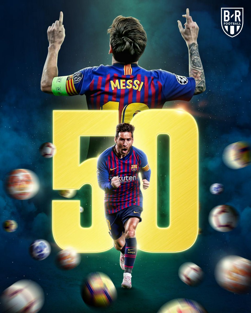 Leo Messi has scored his 50th goal of the season! ⚡️
