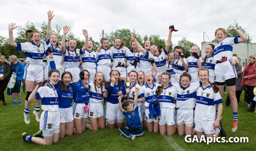 Some lovely pics from today's @AIGIreland Div 2 Feile Final which @StVincentsGAA1 won on the scoreline of 1-5 to 1-1 over @clgNaFianna Images by @GAApics #AIGFeile19