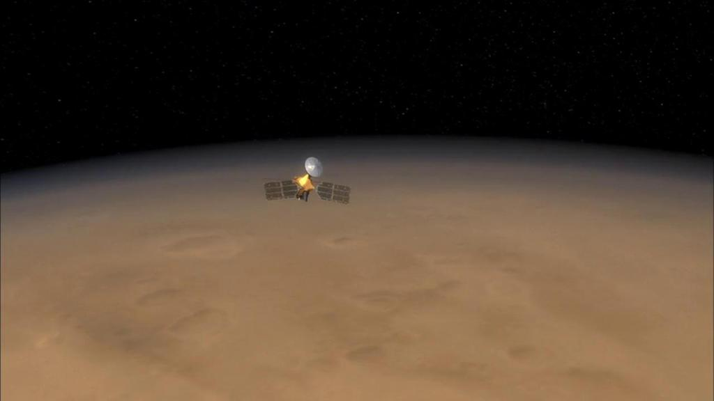 #ICYMI - NASAs Mars Reconnaissance Orbiter hit a dizzying milestone Wednesday when it completed 60,000 loops around the Red Planet! DETAILS >> go.nasa.gov/2WKzMUl