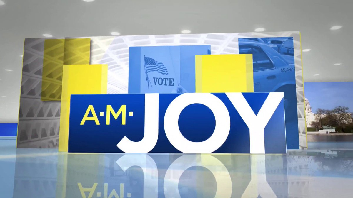 AM Joy w/Joy Reid's photo on #AMJoy