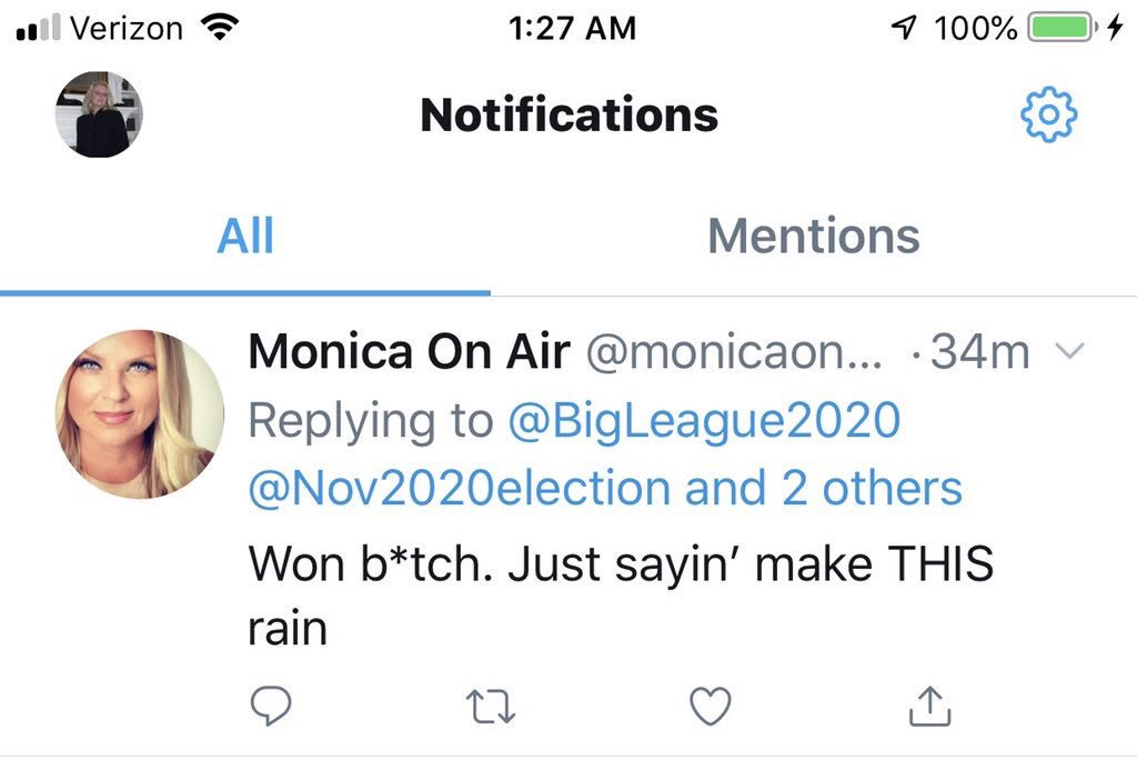 @Nov2020election @KristanBrown @monicaonairtalk @GeoffDuncanGA @christianviewtv @DavidShafer @realDonaldTrump Here is the tweet #MockingMonica is afraid of. On Sunday morning dawn as Christians prepare for mass, Monica a representative of @christianviewtv makes a mockery of our faith.