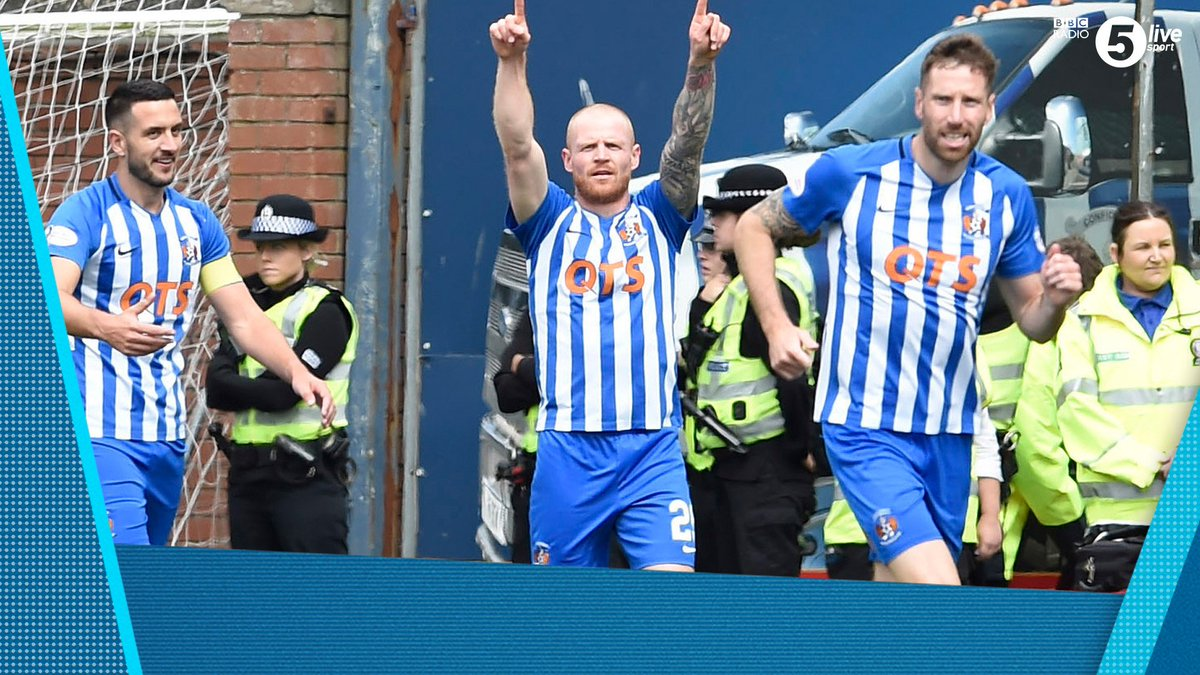 FT: @KilmarnockFC v @RangersFC 2-1 Steve Clarkes side clinch the Europa League place. The last time they played in an European competition was in 2001/2002 📲📻 - bbc.in/2AhzsDX #bbcfootball