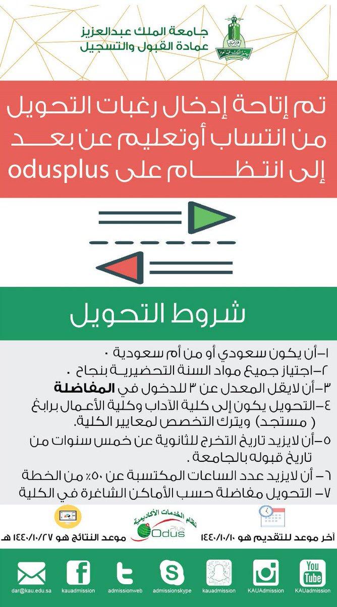 جامعة عبدالعزيز اودس انتساب