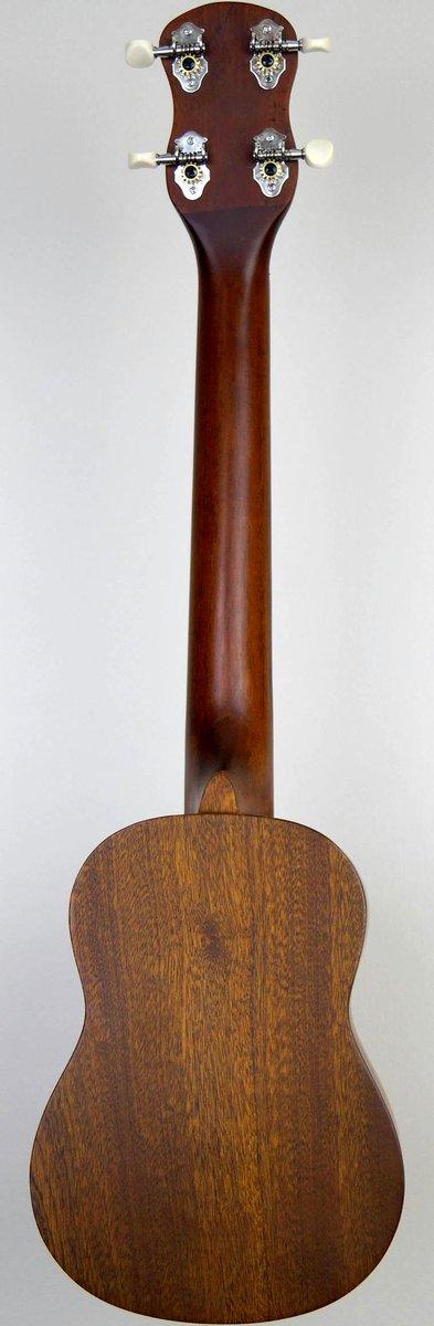 chinese mahogany long neck supertenor soprano ukulele
