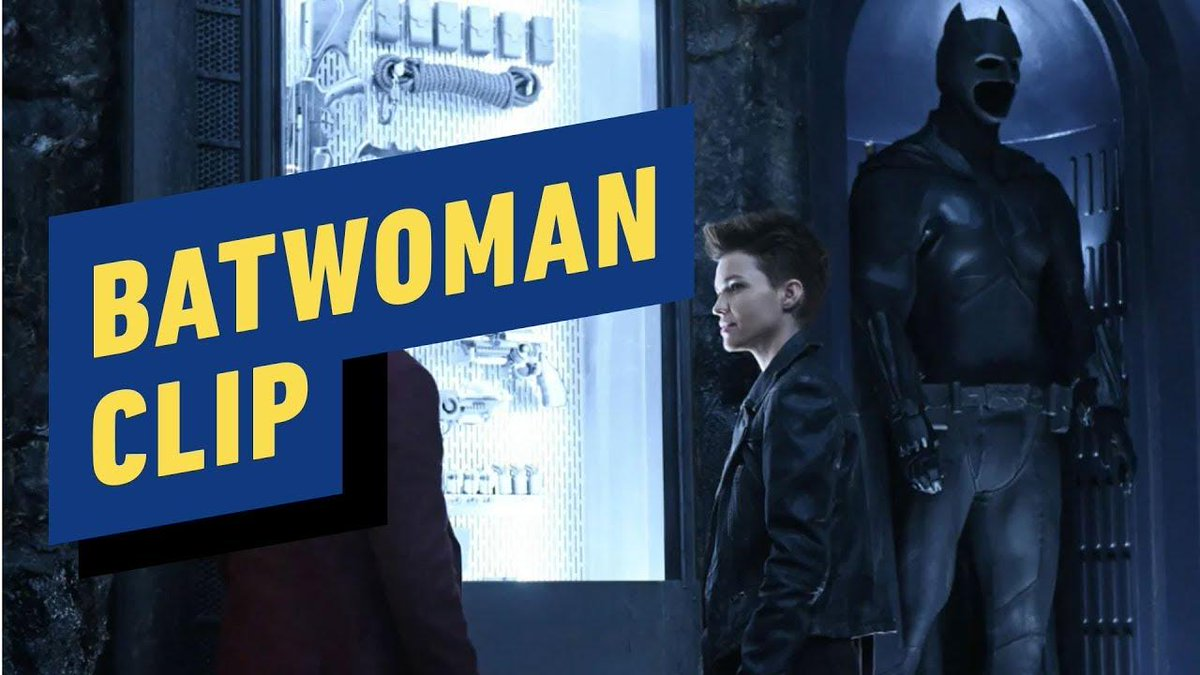 Watch Ruby Rose as Kate Kane, aka Batwoman, and Camrus Johnson as Luke Fox, the son of Wayne Enterprises tech guru Lucius Fox, in this first look clip from Batwoman, which shows off the Batcave in all its glory. 🦸♀️🦇 bit.ly/2WZvqcl
