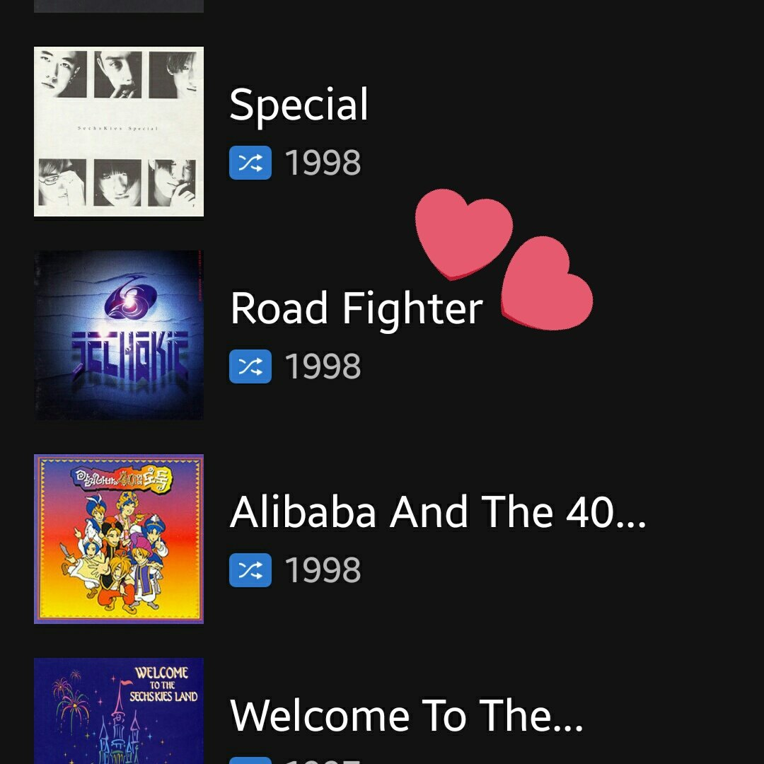 #SECHSKIES Road Fighter is available on Spotify