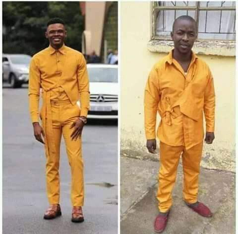 When your tailor was once a Karate master.