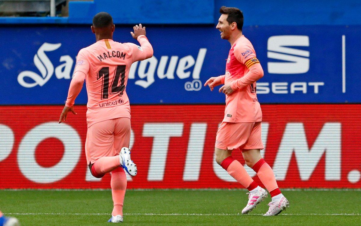 Lần thứ 6 đoạt giải Pichichi, Messi cân bằng kỉ lục