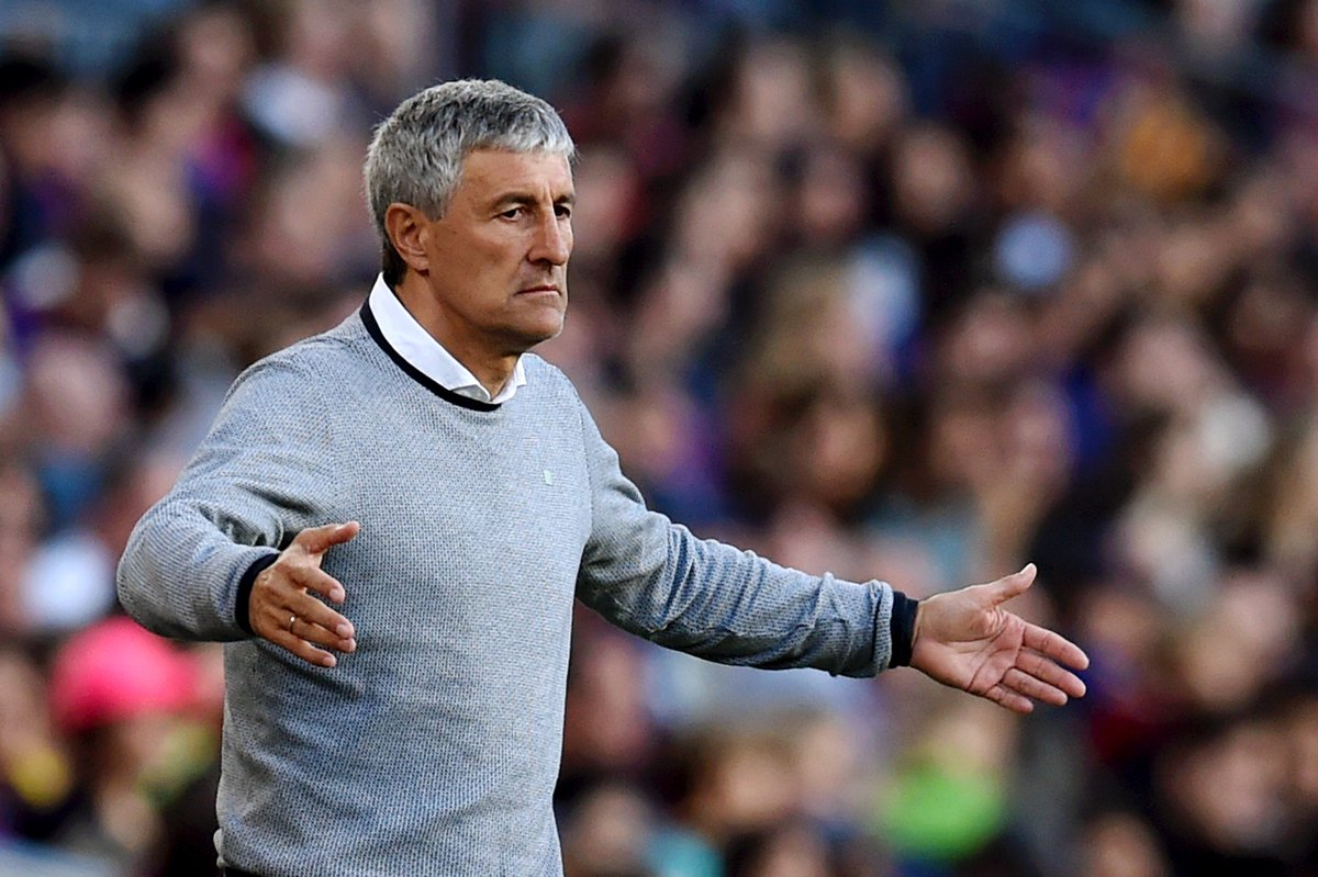 Barcelona 3-4 Real Betis  Real Madrid 0-2 Real Betis   Setien is first away manager to win at Santiago Bernabeu and Camp Nou in a single LaLiga season since Gregorio Manzano for Mallorca in 2002/03  <br>http://pic.twitter.com/fRiTxYPraM