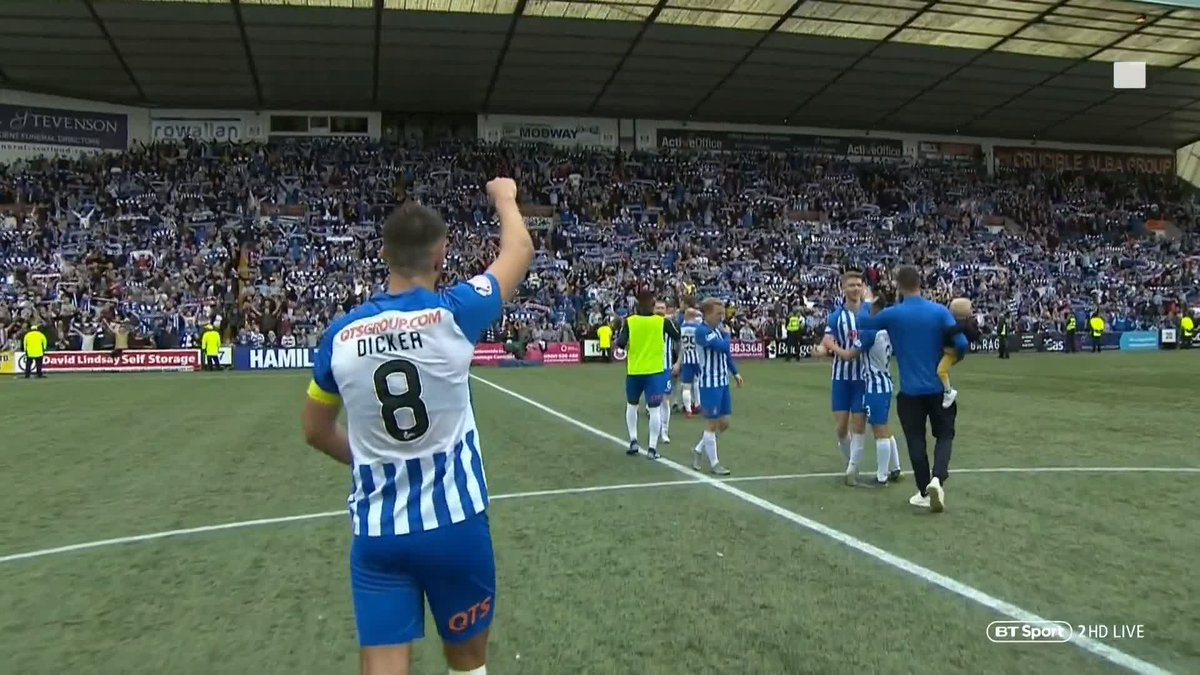 Steve Clarke has done wonders with @KilmarnockFC 🥉 Finished 3rd for first time since 1996 🇪🇺 Auto qualifiers for Europe...
