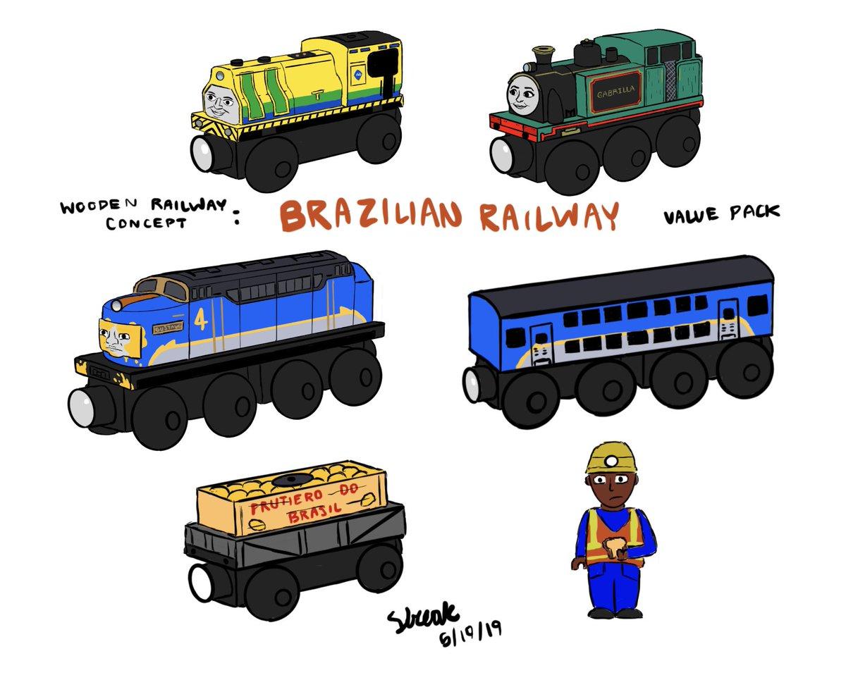 Wooden Railway Thomas Friends Roblox Thomas And Friends Wooden Railway Norman Mike Simmons