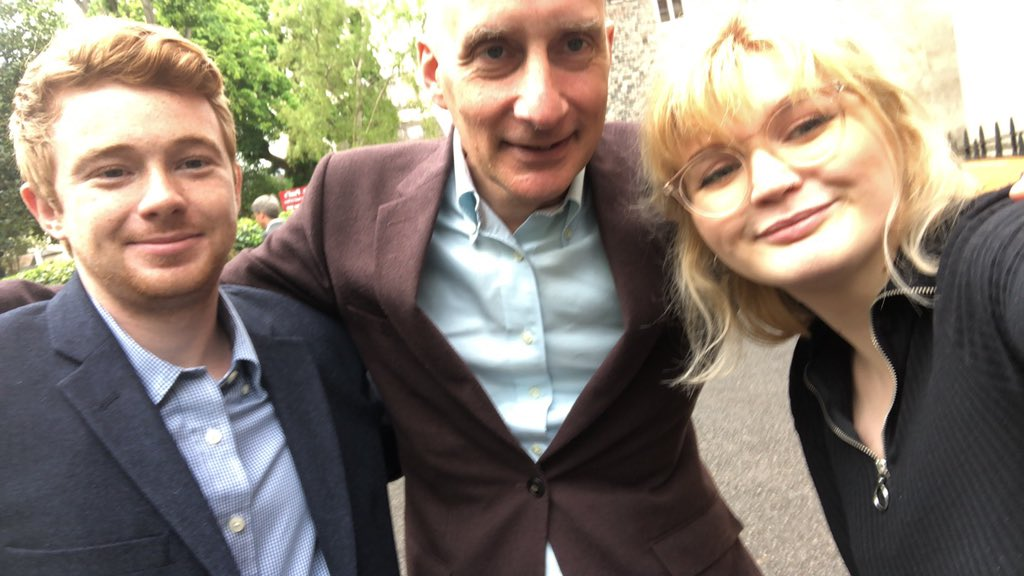 Great hustings with Labour's Andrew Adonis. The takeaway message: Labour for remain. Referendum with option to remain. Stop Farage. Vote Labour. #uwelabour #remainlabour #peoplesvote #europeanelections2019