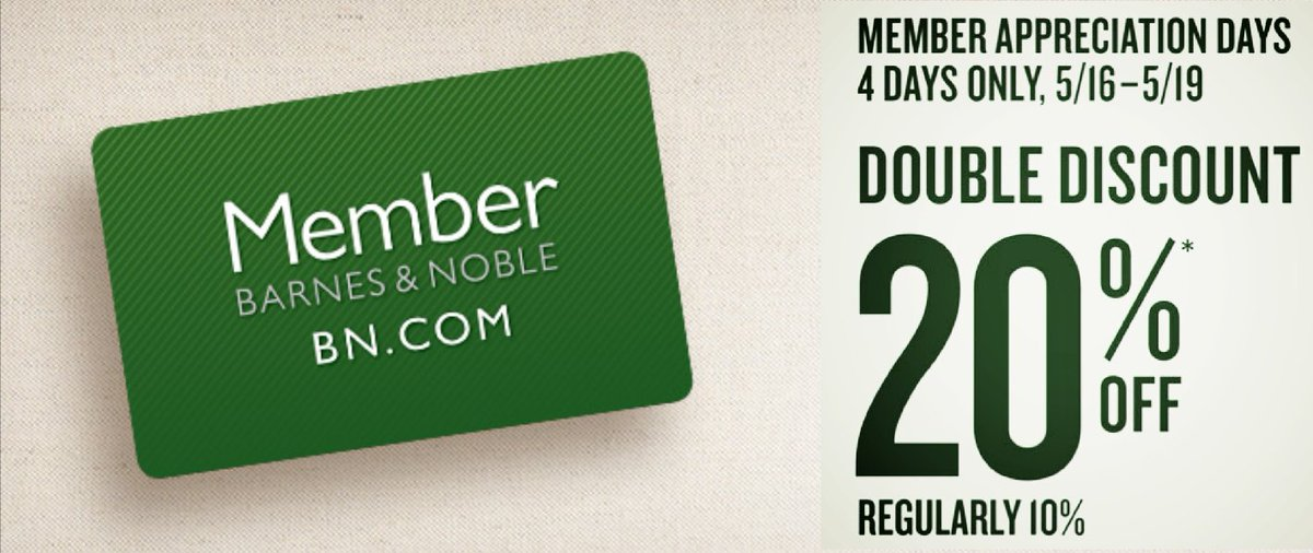 barnes \u0026 noble la crosse (@bnlacrosse) twitterlast day of double discount days! members can enjoy 20% off purchases! not a member yet? just sign up today to get our amazing deals!