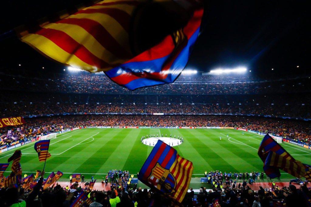 -أنتهى موسم برشلونة في الليغا ،  مبروك مجدداً وبأذن الله نحتفل  بالثنائية نهاية الموسم ..   +19 💙❤️ #ForçaBarça