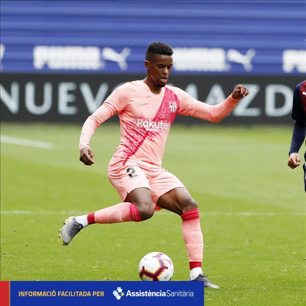 Official: Nélson Semedo has been transferred to a hospital to carry out additional tests after the head bruise that took place in today's match.