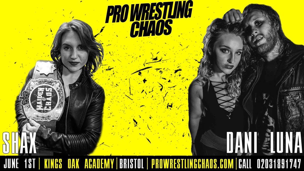 Last night @DaniLuna_pro showed everyone in the Bingo Hall at @ATTACKWrestling why she's all about in a banger with @DUNKZILLADavis. Fortunately, this wasn't news to me as I'd already been in touch with her and Sid and put this piece of business together for @chaos_wrestling.
