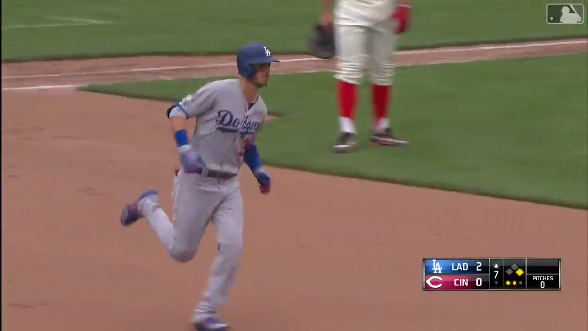 This is getting ridiculous,  @Cody_Bellinger. The slugger already has 17 longballs and 44 RBI's. Oh, and he's hitting .#bellibomb #Dodgers #ITFDB #LA #MLBTwitterHitter #HomeRun